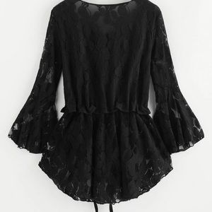 Women's lace long sleeve shirt, NWOT